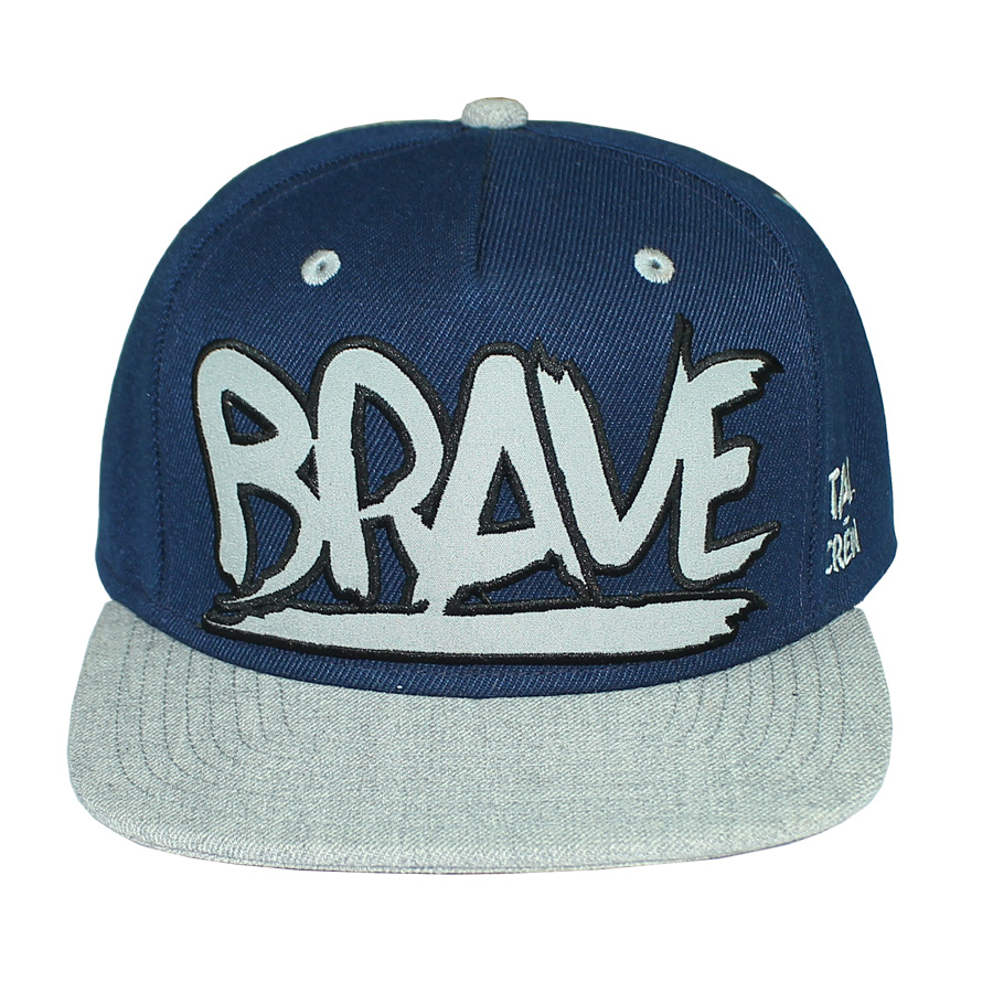 5-Panel Snapback Cap Embroidered
