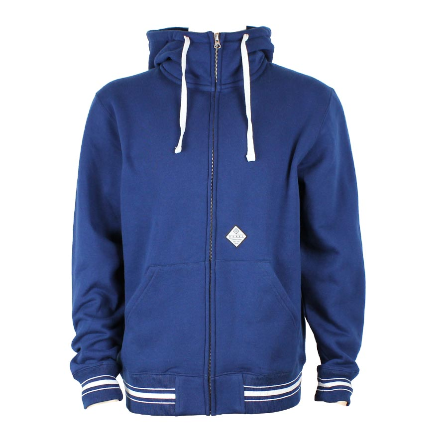 Chainstitch zip-hoody