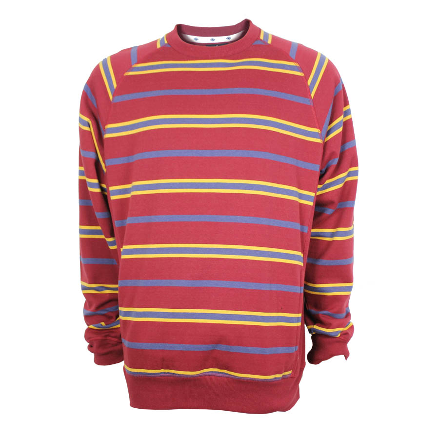 Yarn Dye Striped Sweatshirt